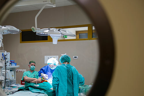 Wyrośla przyuszne (wyrośla przeduszne) - operacja