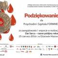 Dar serca – piknik honorowego krwiodawstwa w Ożarowie Mazowieckim