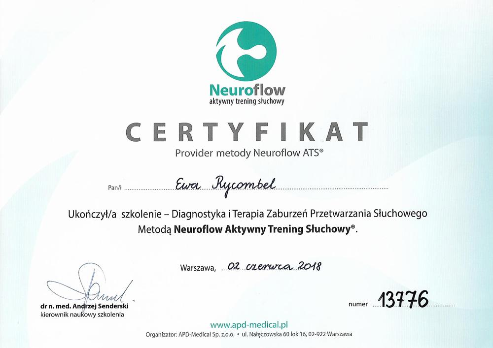 Certyfikat-Neuroflow-ATS